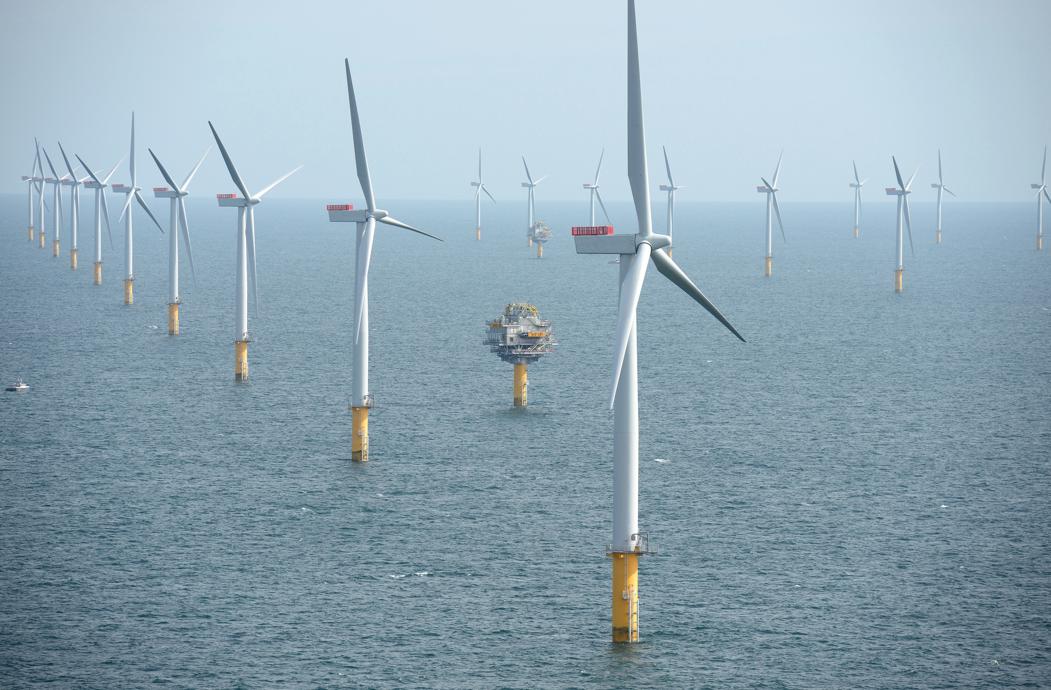 Sheringham parque eólico marino via Wikipedia.