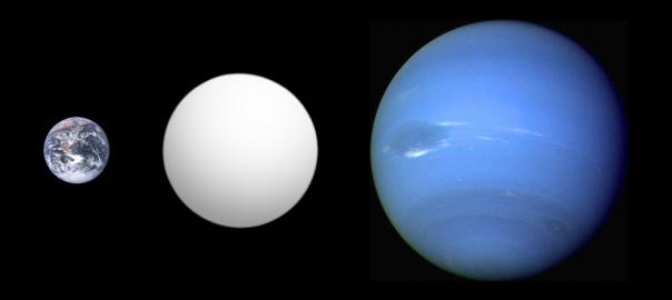 Astrónomos chilenos descubren exoplaneta del doble del tamaño de la Tierra, pero 16 veces más masivo