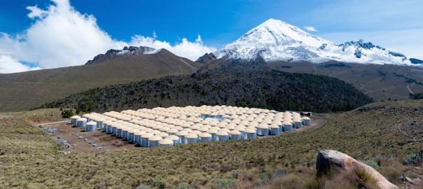 El observatorio al pie del Monte de la Estrella en México