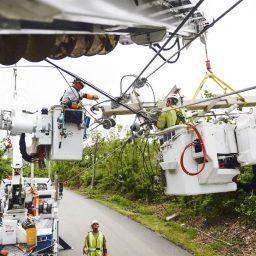 Tras el Huracán María, los esfuerzos de reconstrucción del sistema eléctrico de Puerto Rico brindan lecciones para aumentar la seguridad energética