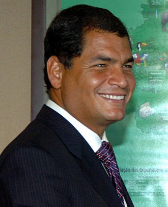 To fortify Ecuador's bioeconomy, Rafael Correa takes a scientific tour of the United States
