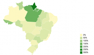 On Brazilians' exposure to pesticides, one thing's for certain: Farmland is expanding.